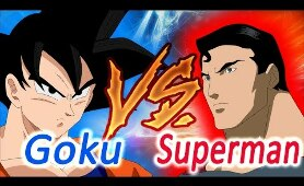 Goku Vs Superman - A primeira batalha (Fan Animation)