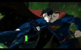 Batman vs Superman (Fight) | Batman: Hush