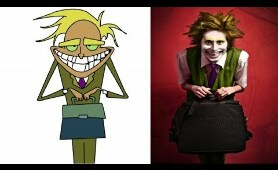 Courage The Cowardly Dog In Real Life Characters