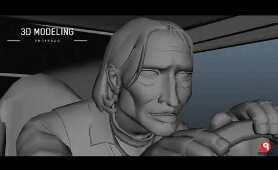 UNDERDOG Making film 3D Cartoon Render