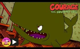 Courage The Cowardly Dog | Whale Hunt | Cartoon Network