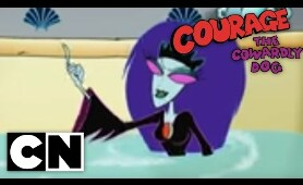 Courage the Cowardly Dog - Queen of the Black Puddle