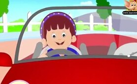 Driving in My Car - Nursery Rhyme