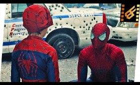 Spider-Man vs Rhino - Ending Scene | The Amazing Spider-Man 2 (2014) Movie Clip 4K