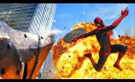 Spider-Man vs Rhino - Final Fight Scene - The Amazing Spider-Man 2 (2014) Movie CLIP HD