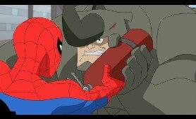 El Espectacular Spiderman/Hombre Araña Temporada 2 | Spider-Man Vs Rhino | en Latino