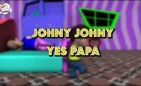 Johny Johny Yes Papa Cartoon Poem
