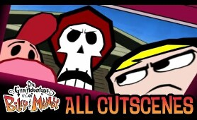The Grim Adventures of Billy & Mandy All Cutscenes | Full Game Movie (Wii, GCN, PS2)