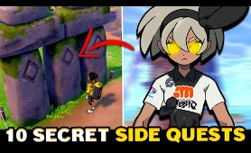 10 SECRET & HIDDEN Side Quests in Pokemon Sword & Shield You Should Do
