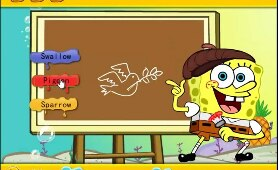Spongebob Squarepants: SpongeBob Draws Somethings - SpongeBob Games