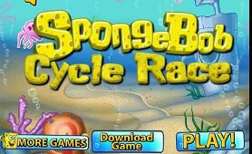 Spongebob Cycle Race | spongebob game | spongebob episodes